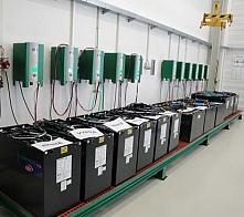 Battery and Chargers Rooms (hydrogen)